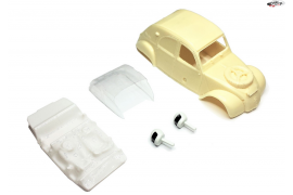 Bodywork Citroën 2CV Raid resin