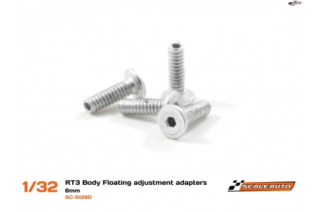 Screws 5 mm. M2 Body Floating System