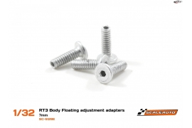 Screws 6 mm. M2 Body Floating System