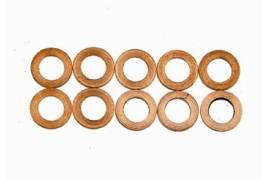 Separators of 0.5 mm for shaft Guide 3.6 mm. Brass.