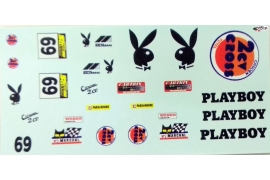 Playboy decals for Citroën 2CV Mitoos