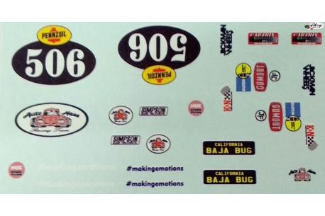 """Calcas """"506"""" para VW Escarabajo Mitoos"""