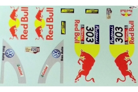 Calcas Red Bull para VW Escarabajo Mitoos