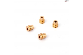 Brass bearing with 4mm. spacer