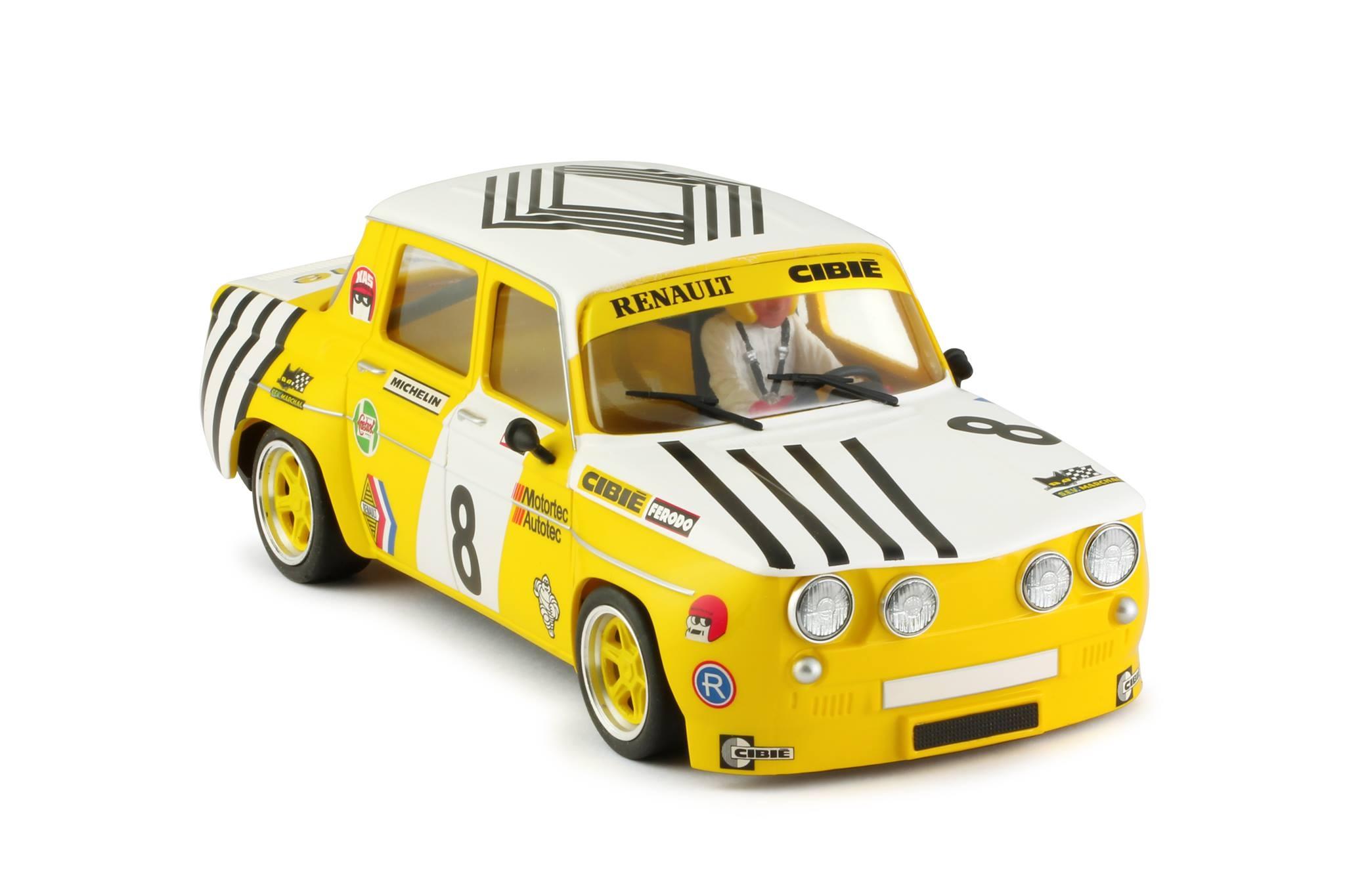 Renault 8 Gordini Yellow Nr 8 Aloy Evolutionshop S L