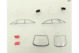 Opel Calibra DTM transparent parts
