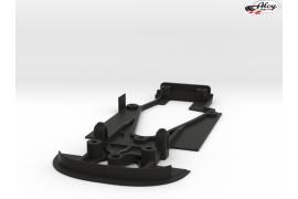 3DP SLS chassis for McLaren F1 GTR Ninco
