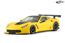 Chevrolet Corvette C7R yellow test car