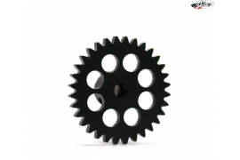 Spur Gear 32 teeth x 17 mm. Ø AW Black