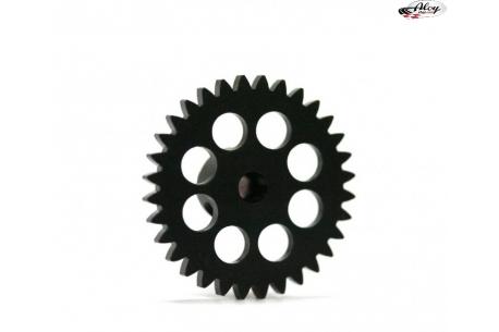 Spur Gear 32 teeth x 17 mm. Ø AW Black