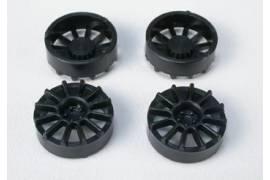 12 arms hubcap rim 17 black (x 4)