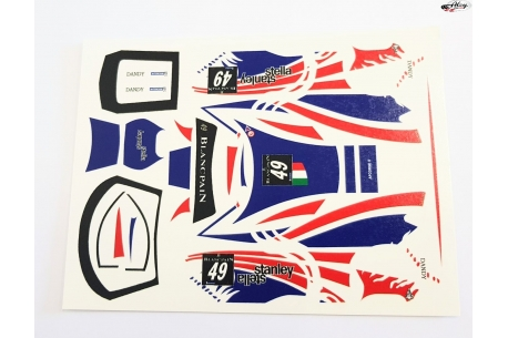 Decals set for Ferrari GT3 Italia