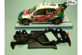 Angular Race Soft chassis 2018 VW Polo WRC Superslot/Scalextric