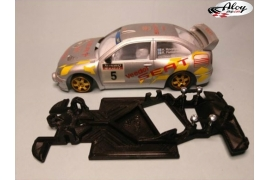 Angular Race Soft chassis 2018 Ford RS200 MSC/Scaleauto