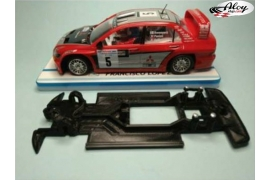 In-line Race Soft chassis 2018 Peugeot 307 WRC Ninco