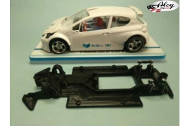 Chasis Race Soft Lineal 2018 Peugeot 208 Scaleauto