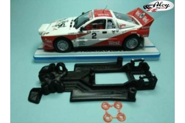 In-line Race Soft chassis 2018 Opel Manta Avant Slot