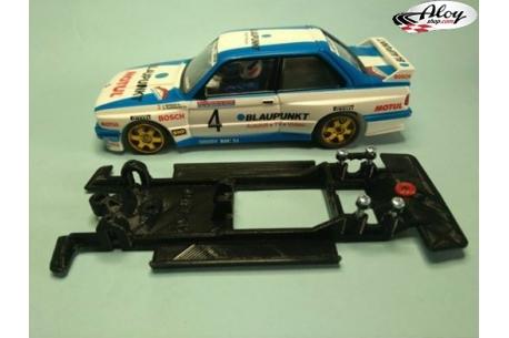 Chasis lineal black BMW M3 E30 SCX Altaya