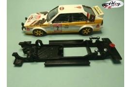 Chasis lineal black Audi Quattro SCX