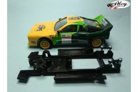 Chasis lineal black Lancia 037 SCX