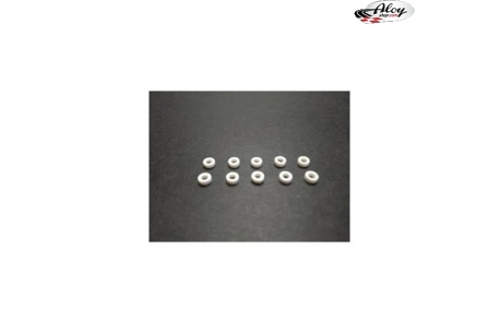 """Spacers 2 mm. for axles 3/32"""" (2,38 mm.)"""