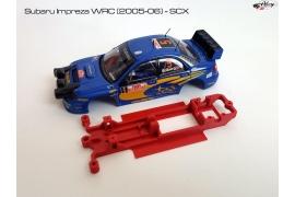 Chasis en línea 3DP Subaru Impreza WRC SCX