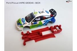 Chasis en línea 3DP Ford Focus WRC 2004 SCX