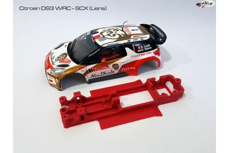 In line angular chassis Ford Fiesta WRC SCX