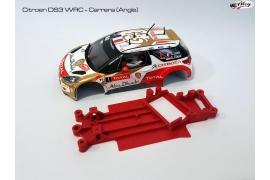 Chasis en ángulo 3DP Citroën DS3 WRC Carrera