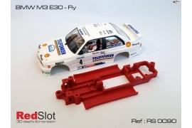 Chasis en línea 3DP BMW M3 E30 Fly