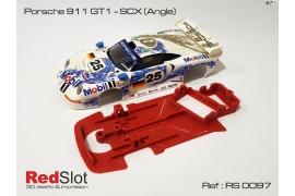 Chasis en ángulo Porsche 911 GT1 SCX