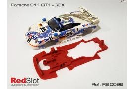 Chasis para bancada para Porsche 911 GT1 SCX