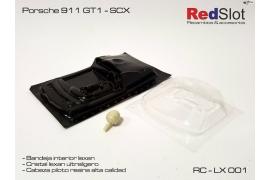 Kit lexan Porsche 911 GT1 SCX