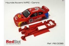 Chasis en línea 3DP Hyundai Accent WRC Cartrix