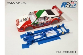 Chasis en línea 3DP Flex RS2 BMW M1 Fly