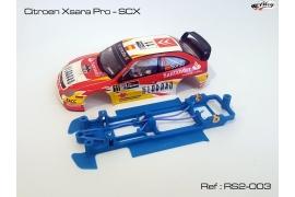 Chasis en línea 3DP Flex RS2 Citroën Xsara Pro SCX