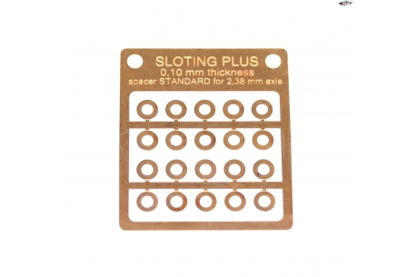 Separador de bronce Standard 0,10 mm.