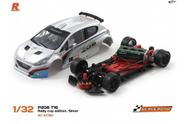 Peugeot 208 T16 Cup silver AW