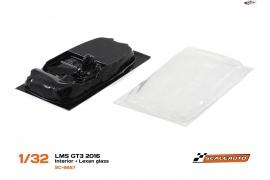 Interior lexan LMS GT3 2016
