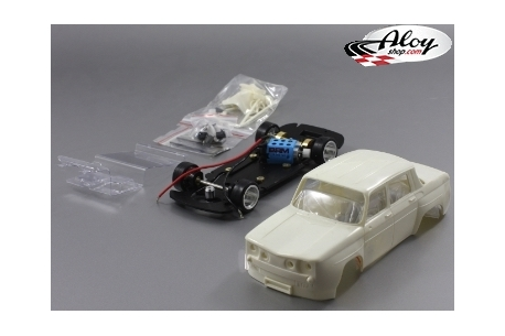 Renault 8 Gordini white kit
