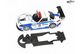 Chassis 3DP EVO for Renault RS01 SCX ready for Slot.it motor mount