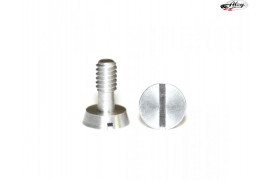 Special aluminium screw for motor mounts