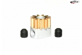 Removable pinion Z11 brass x 6.5 mm