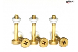 Suspension screws standard brass L with nuts