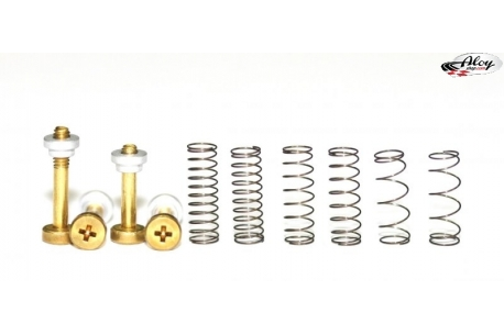 Complete suspension kit standard brass