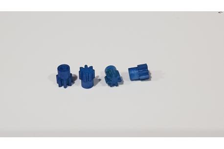 Piñon de nylon de 7 dientes