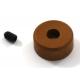 Tope corona In-Line para piñones de 6 mm.