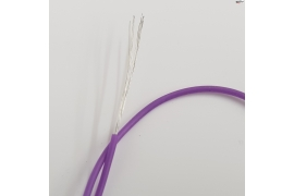 Superfine silicone cable 0,8mm Ø