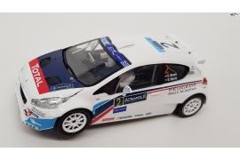 Peugeot 208 T16 IRC Acroppolis 2014 Winner