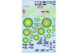 Decals Valeo BP Igol 1/24-1/32 - 1/43